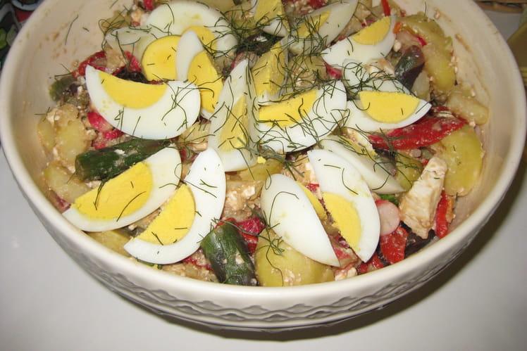Salade estivale vitaminée