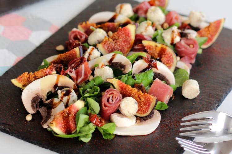 Salade Figue et Jambon de Bayonne