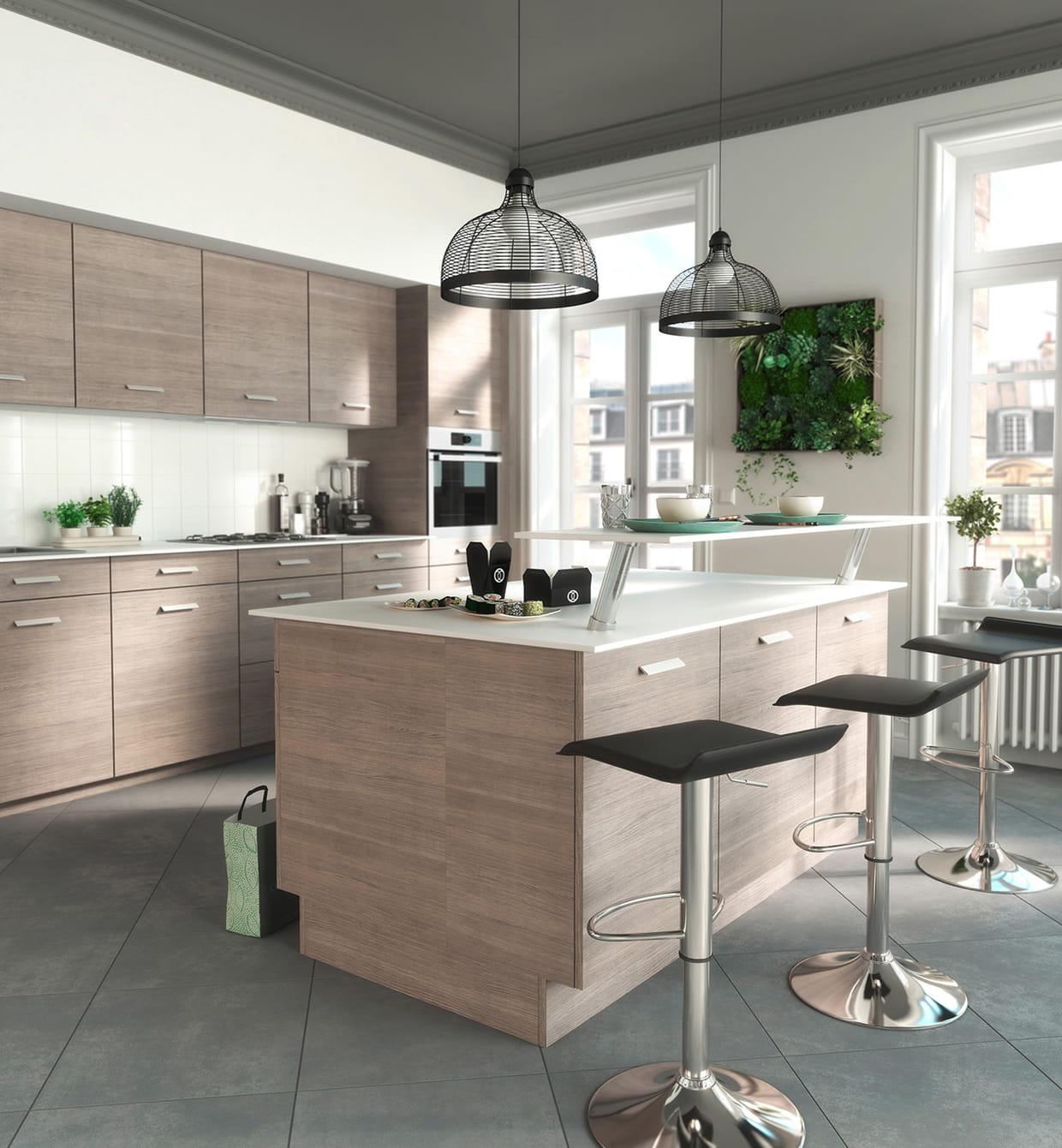 cuisine unik cooke lewis de castorama. Black Bedroom Furniture Sets. Home Design Ideas