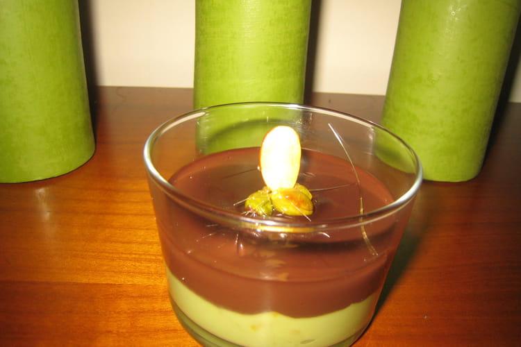 Crème d'avocat et son chocolat chaud