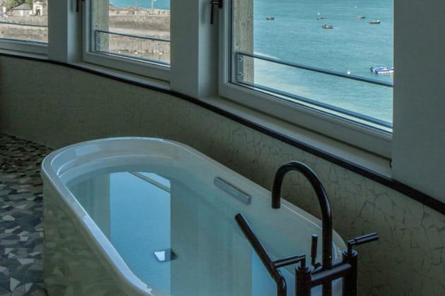 Un bain de luxe