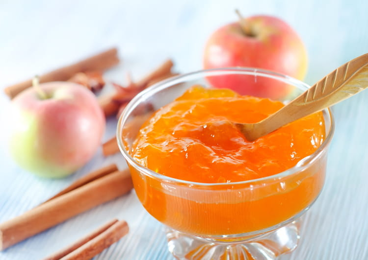 Recette de gel e de pommes la cannelle - Gelee de pommes avec extracteur ...