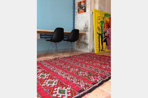 tapis kilim. Black Bedroom Furniture Sets. Home Design Ideas