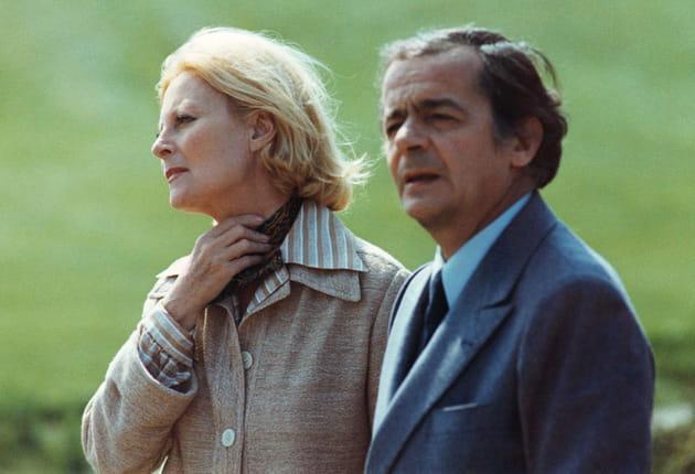 """""""Le Chat et la souris"""" avec Serge Reggiani, 1975"""