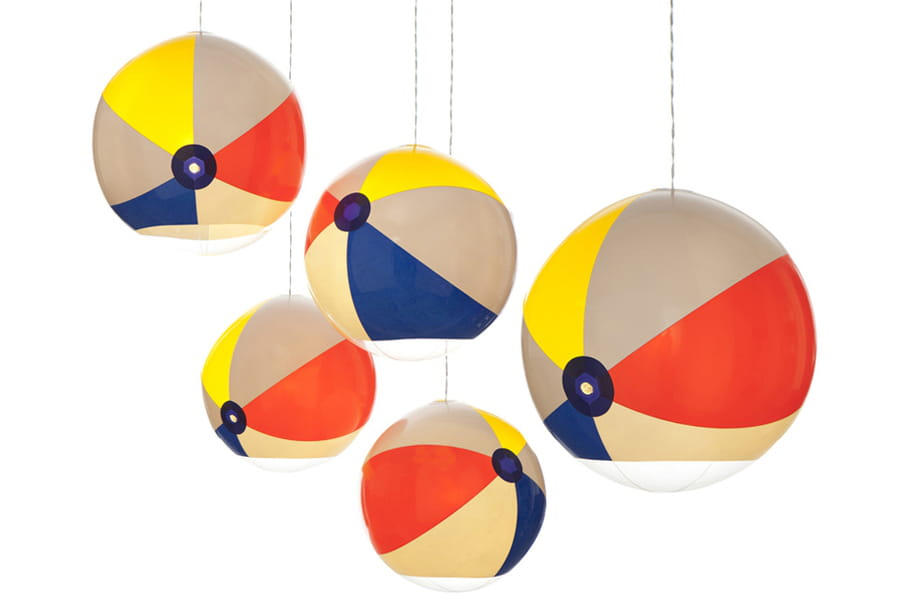 L'objet du désir : la lampe Beach Ball de Toby Sanders