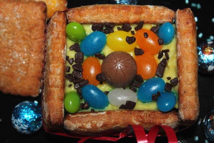 Nids carrés de Pâques
