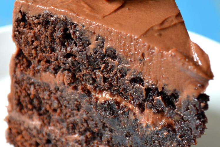 Layer cake, saveur chocolat & praliné