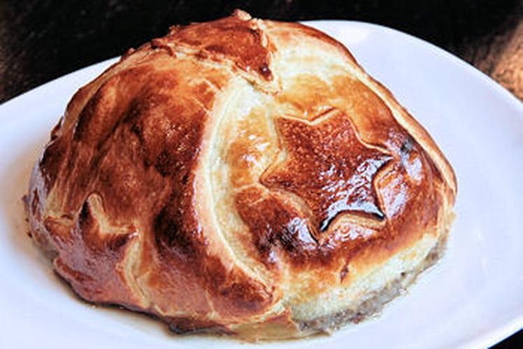 Filet de bœuf en croûte aux champignons