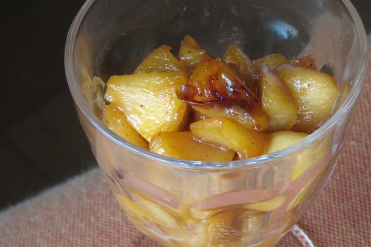 Pommes tatin express