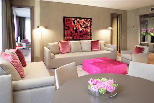 Des chambres de luxe