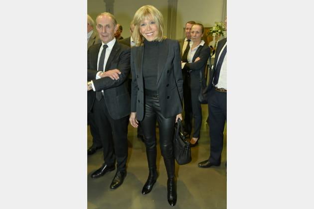 Brigitte Macron le 26novembre 2016