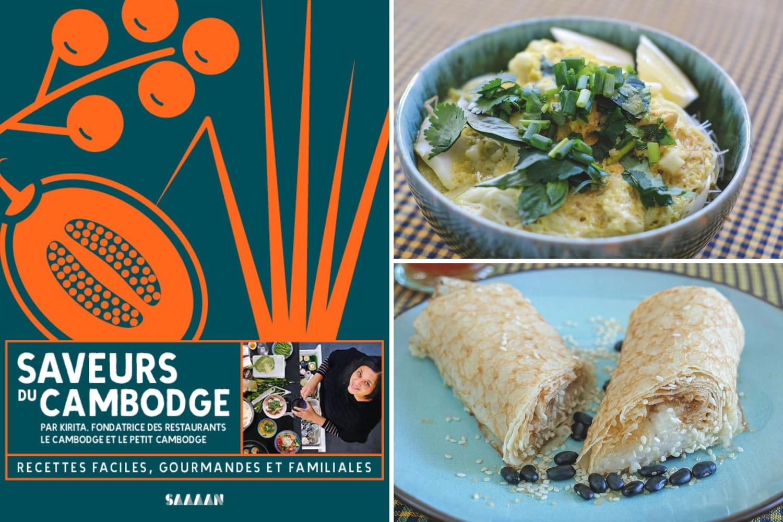 La fondatrice des restaurants Le Petit Cambodge et Le Cambodge a sorti un second livre