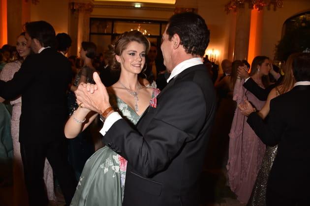 Son Altesse Royale Princesse Zita de Bourbon-Parme et son père Son Altesse Royale Prince Charles-Emmanuel de Bourbon-Parme