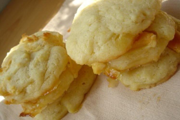 Cookies caramélisés au chocolat blanc