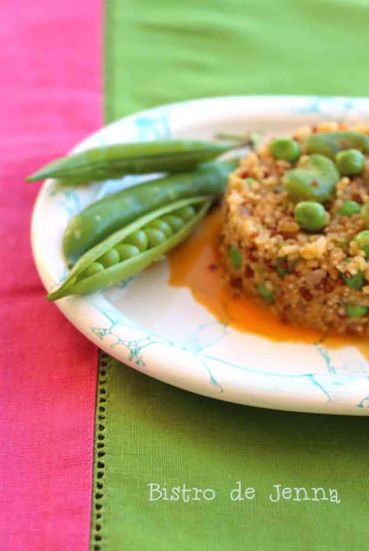 Risotto f ves et petits pois frais - Cuisiner les petits pois frais ...