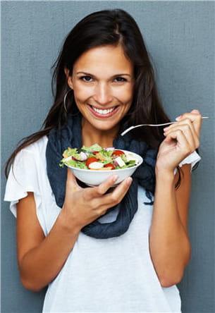 en hiver, mieux vaut conserver une alimentation riche en fruits et légumes.