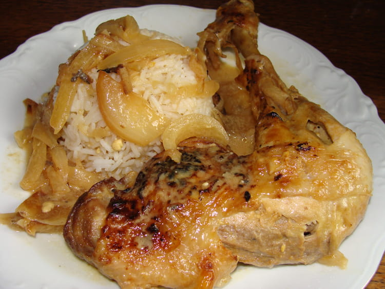 recette poulet yassa senegalais