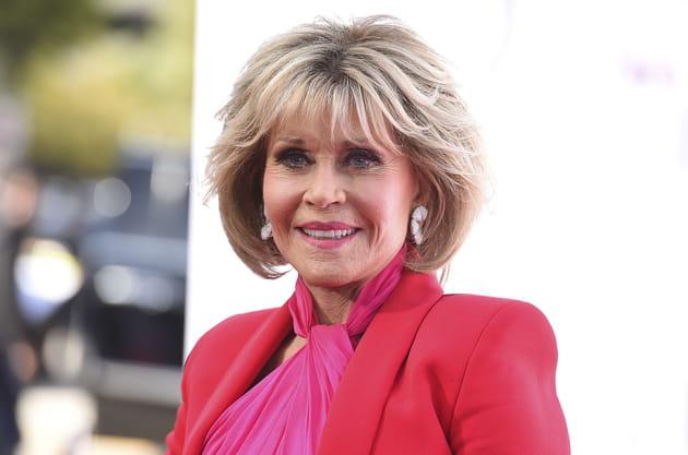 Jane Fonda, toujours au top à LA