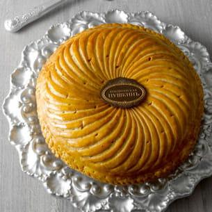 galette des rois noisettes-mandarine.