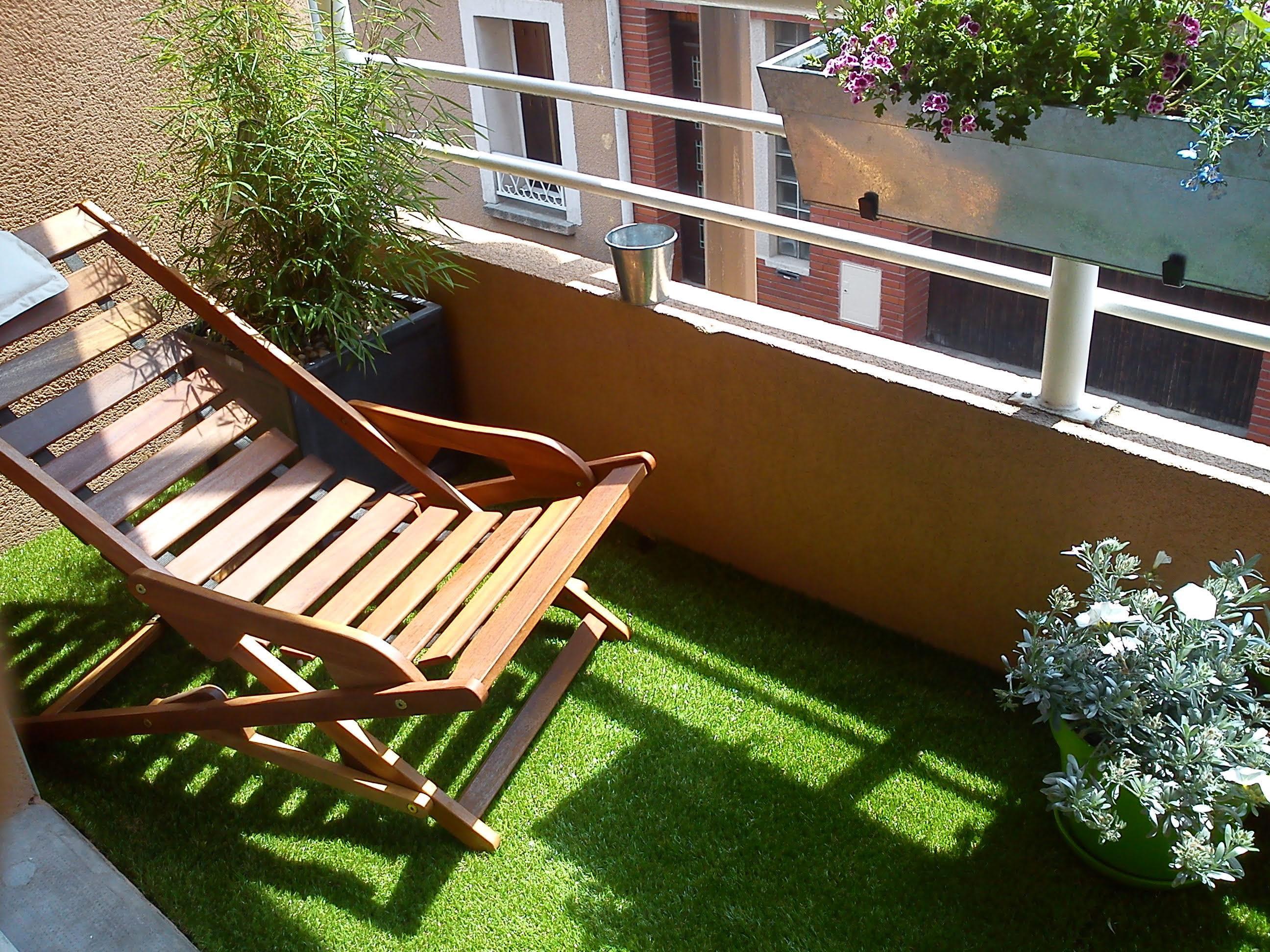 Souvent Bien choisir son gazon synthétique pour le balcon ou la terrasse VO55