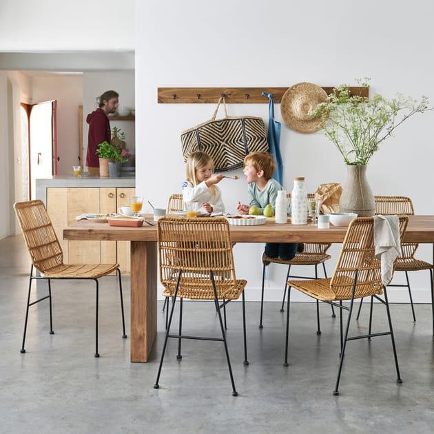 Table et chaises malu de la redoute int rieurs for Chaise de salle a manger la redoute