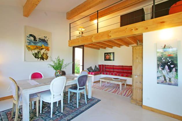 Une mezzanine spacieuse