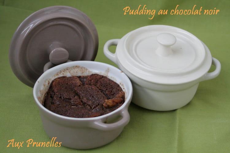 Pudding au chocolat noir