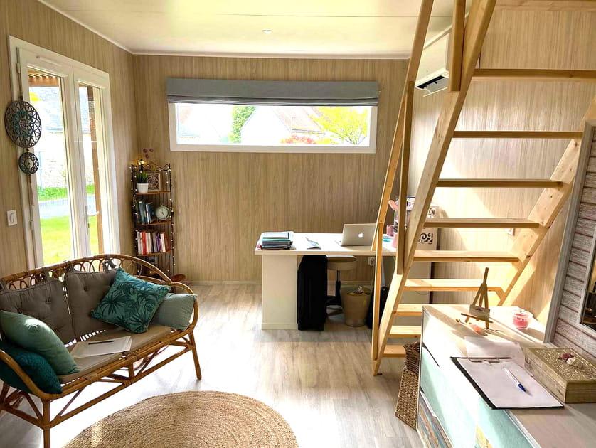Un studio de jardin en guise de cabinet professionnel