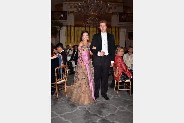 Monica Concepcion et son cavalier Guelfo Gucci Ludolf