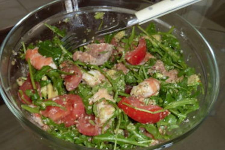 Salade fraîcheur des quatre saisons