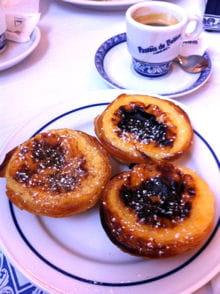les fameux pastéis de belém !