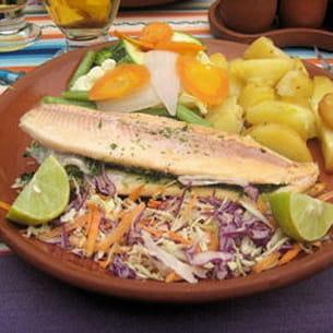 truite farcie - lac titicaca