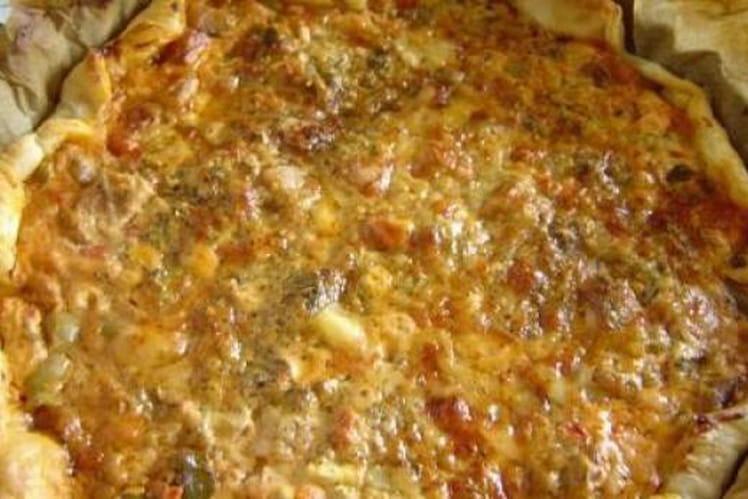 Recette de tarte v g tarienne la ratatouille olives et - Cuisiner la ratatouille ...