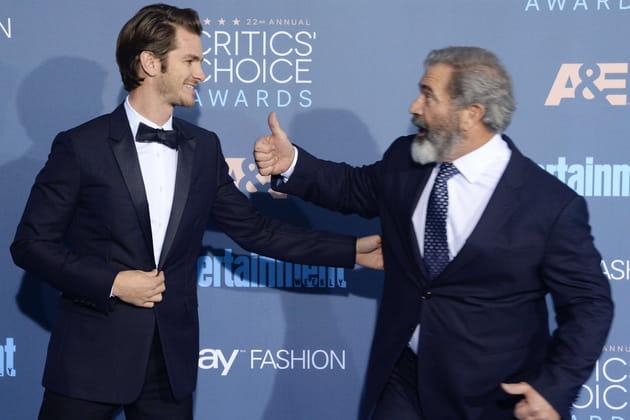 Mel Gibson a super-liké Andrew Garfield