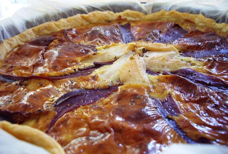 Recette de quiche au bleu d 39 auvergne et magret de canard fum la recette facile - Cuisiner le magret de canard au four ...