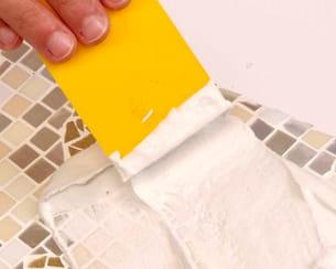 etaler le plâtre