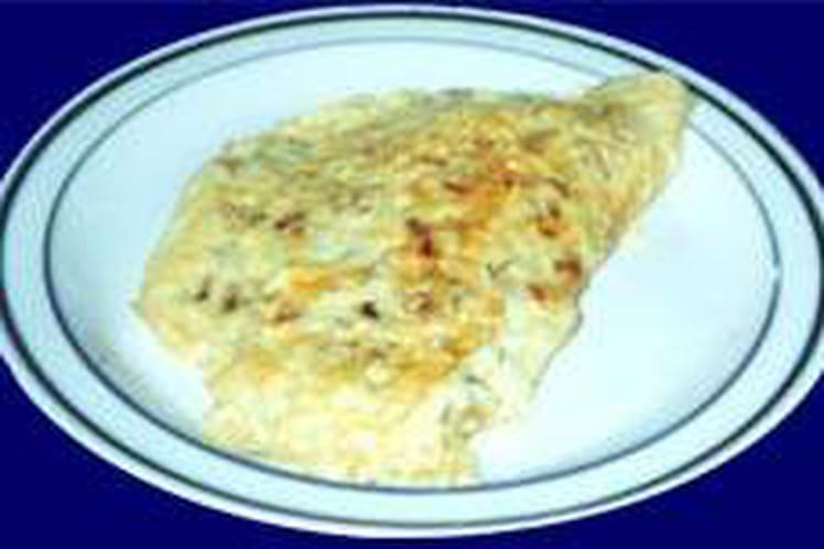 Omelette au pastis