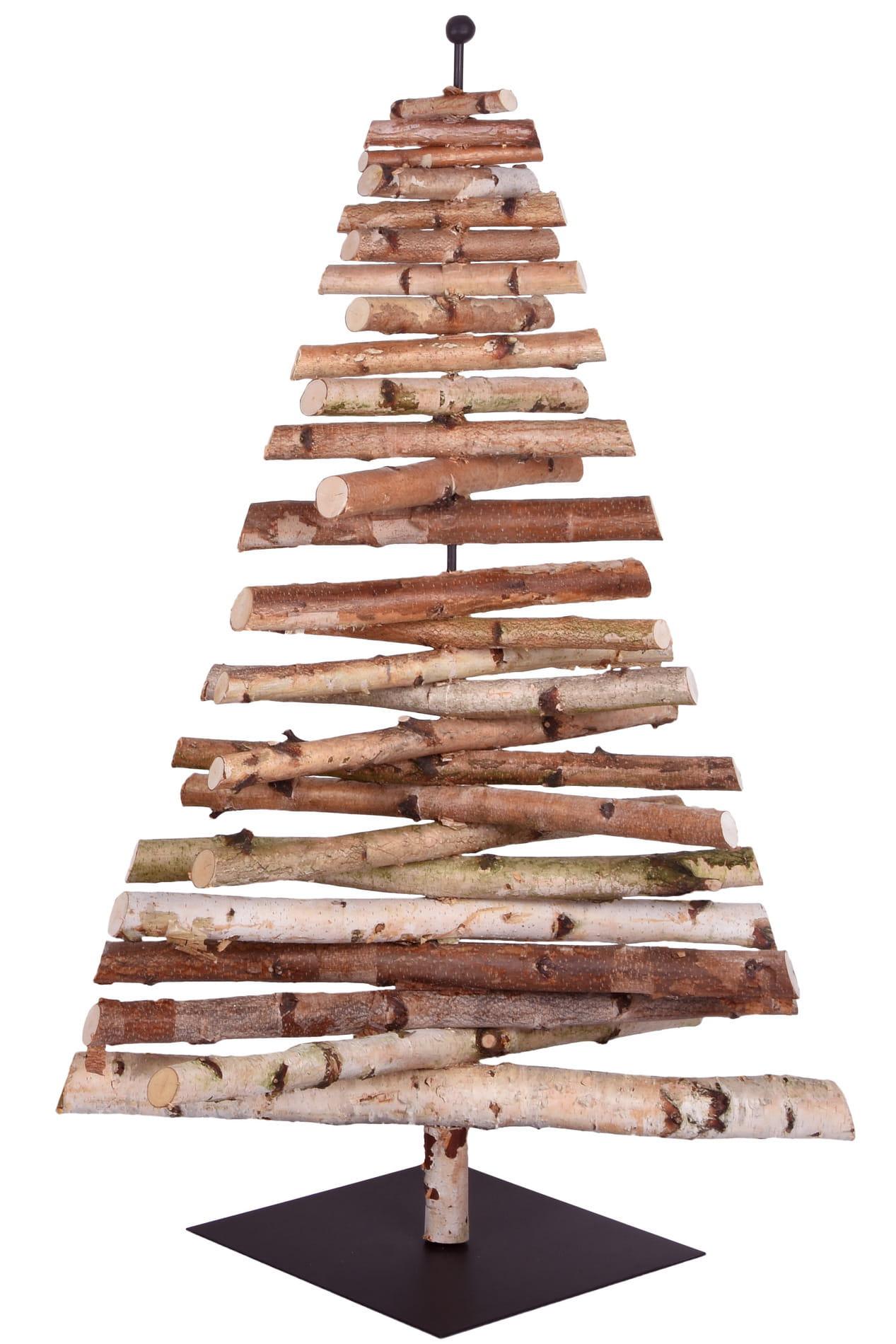sapin compos de petits rondins de bois chez fleux 39. Black Bedroom Furniture Sets. Home Design Ideas