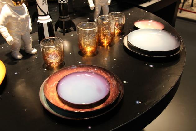 Vaisselle Cosmic Diner par Diesel Living X Seletti