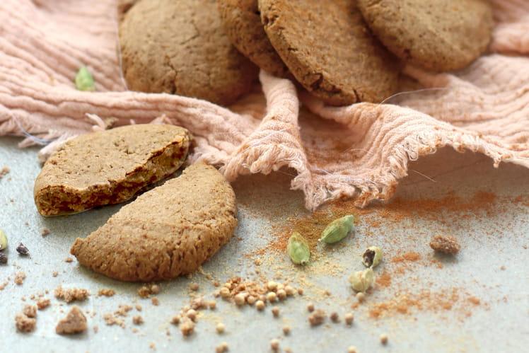Cookies aux épices douces & coco