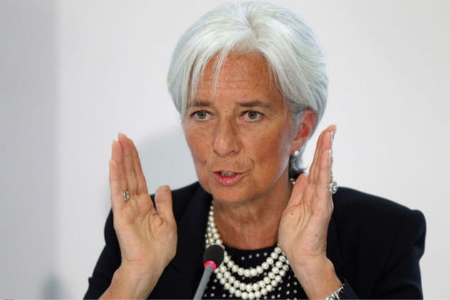 Christine Lagarde, Wonder Woman
