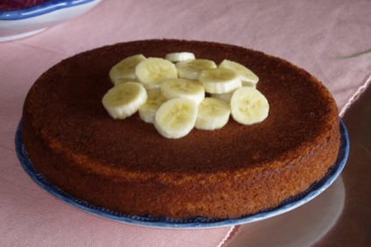 Gâteau à la banane au rhum ambré