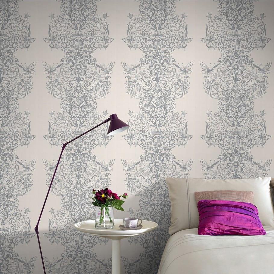 un papier peint rococo quel papier peint pour ma chambre journal des femmes. Black Bedroom Furniture Sets. Home Design Ideas
