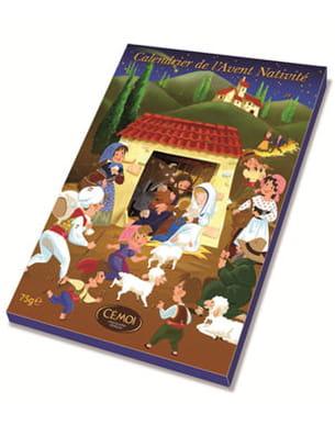 calendrier de l'avent nativité de cémoi