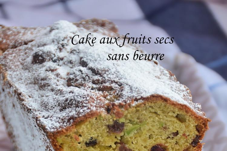 Cake aux fruits secs sans beurre