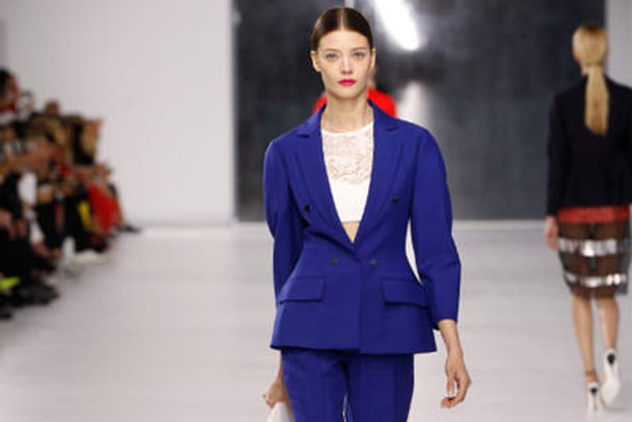 La nouvelle femme Dior défile à Monaco pour la collection croisière 2014