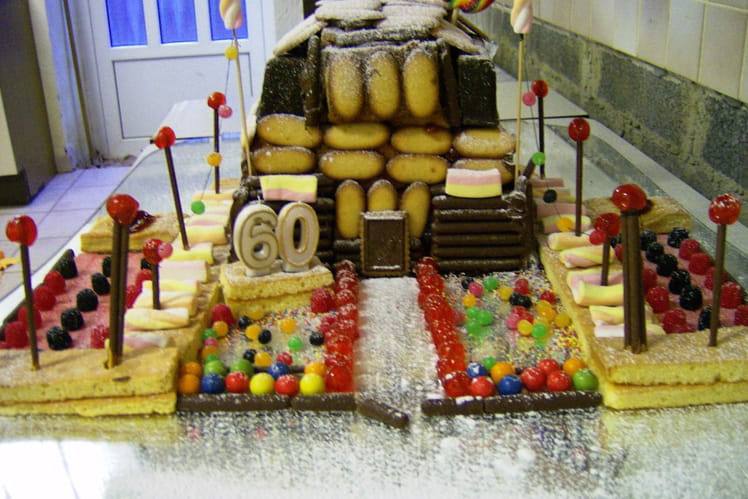 Gâteau maison d'Hansel et Gretel