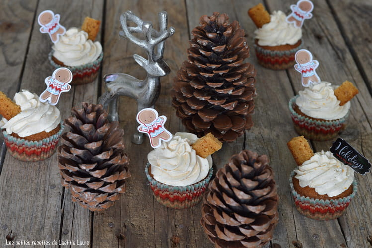 Cupcakes pain d'épices et orange