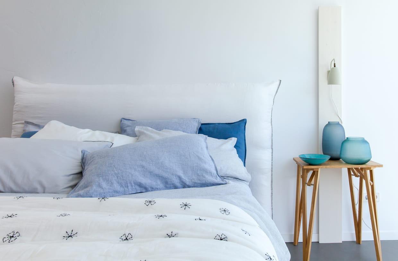 t te de lit mereson d 39 am pm. Black Bedroom Furniture Sets. Home Design Ideas
