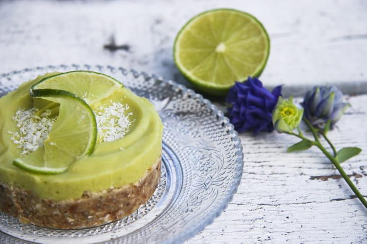 Tartelette crue à l'avocat et au citron vert